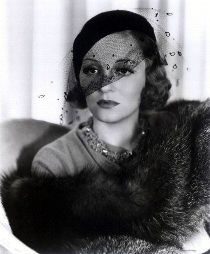 Portrait of Tallulah Bankhead in Faithless directed by Harry Beaumont, 1932 #1930s #vintage