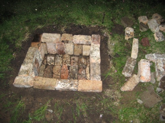 How To Build An In Ground Brick Fire Pit Fire Pits