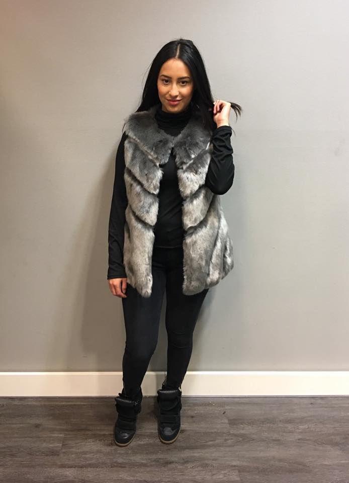 Bodywarmer Pretty Fur