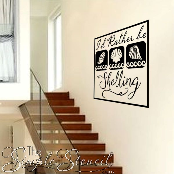 design your own wall stencils uk. let your friends and family know you\u0027d rather be shelling with this nautical inspired design own wall stencils uk n