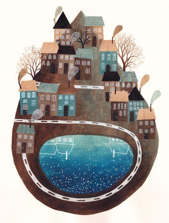 Spanish illustrator Gemma Capdevila - living and working in Barcelona.