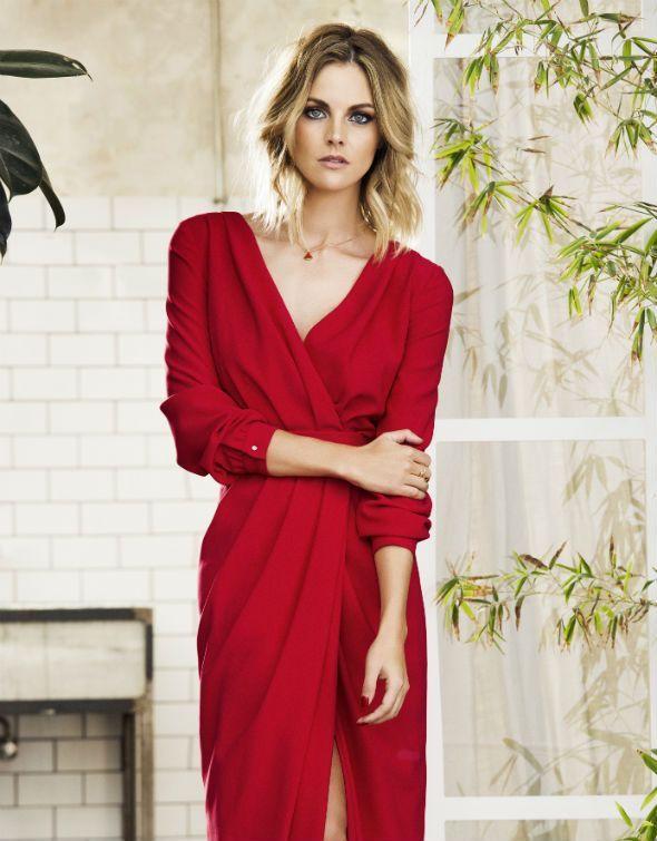Amaia Salamanca con vestido de Laura Bernal en el XL Semanal