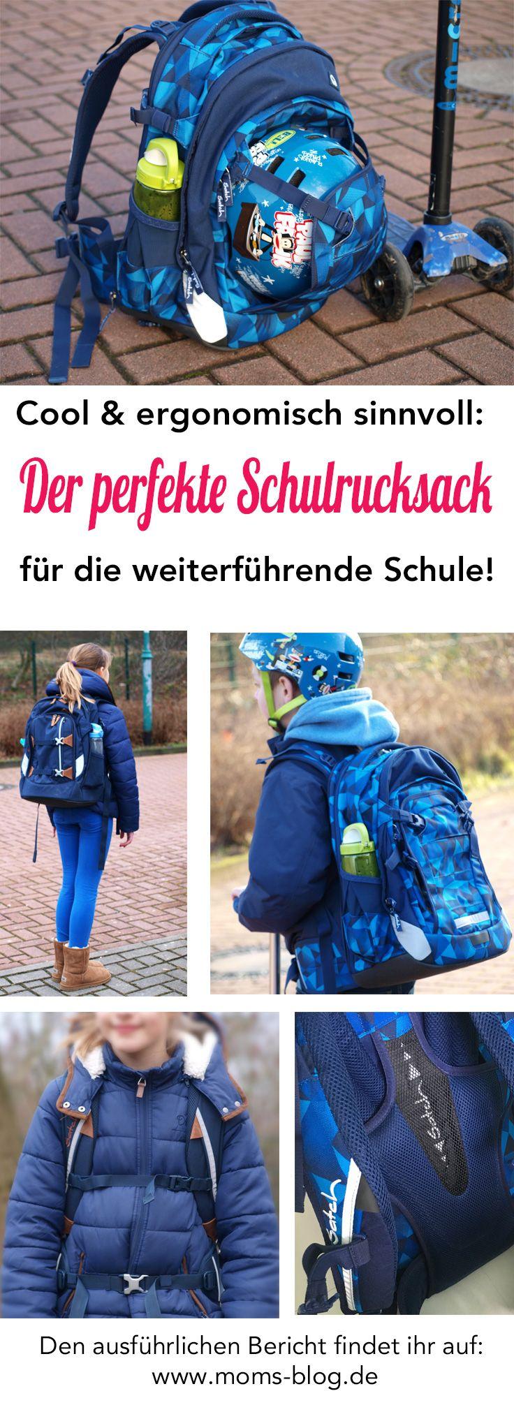 Euer Kind wechselt im Sommer auf die weiterführende Schule und ihr sucht nun nach einem Schulrucksack, der sowohl cool als auch bequem/ergonomisch sinnvoll ist? Dann habe ich einen Tipp für euch! :-) http://www.moms-blog.de/schulrucksack_satch_erfahrung/  #tornister #schultasche #schulrucksack