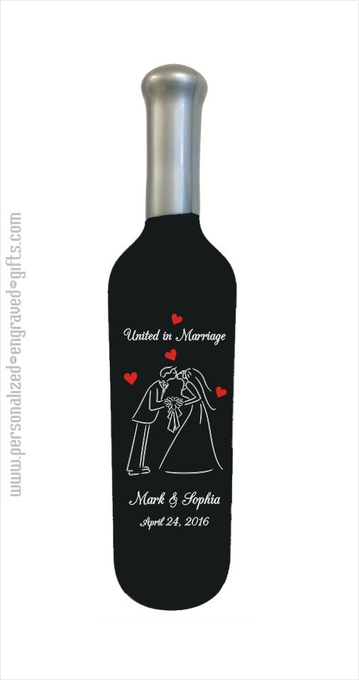 about Wedding / Anniversary Gifts on Pinterest Wine bottle wedding ...