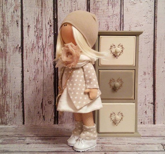 Lovely doll Tilda doll Art doll handmade by AnnKirillartPlace