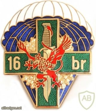 POLAND 16th Reconnaissance Battalion pocket badge