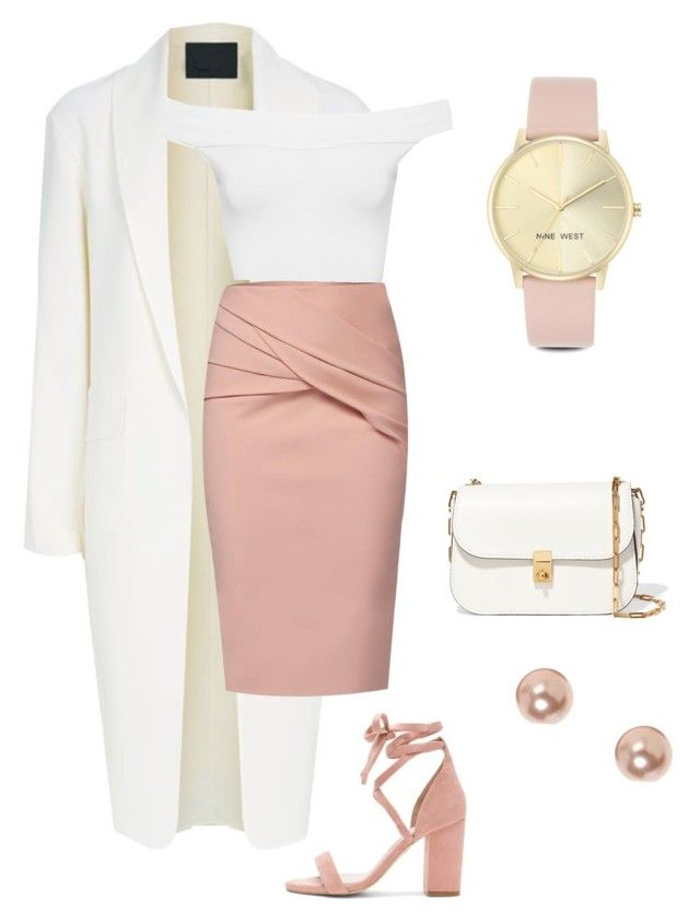 """Sans titre #1"" by manon-agneray on Polyvore featuring mode, Alexander Wang, WtR, WearAll, Valentino, Raye, Nine West et claire's"