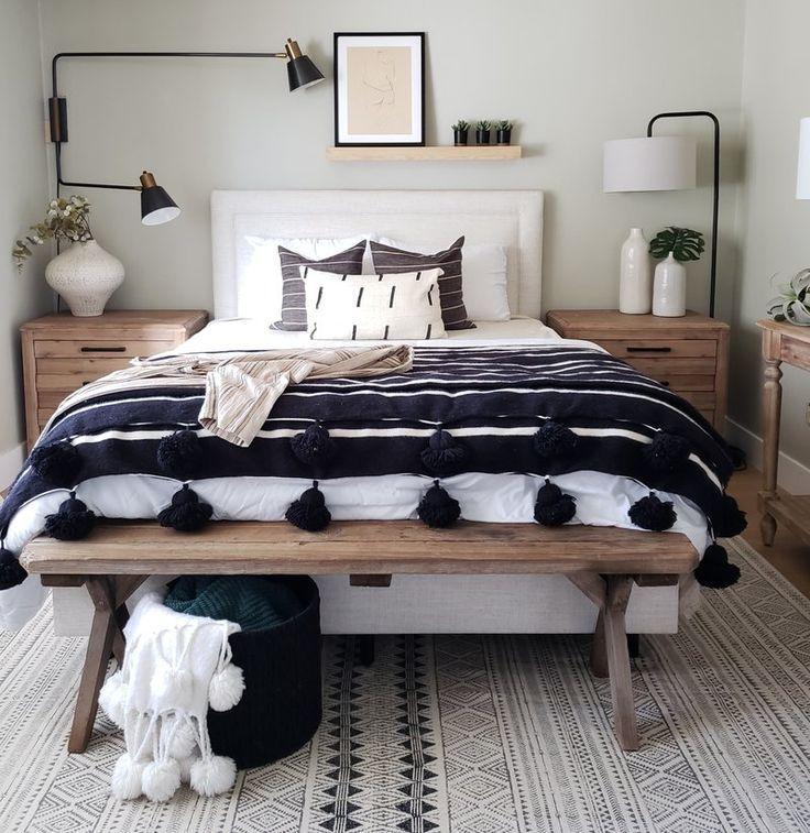Dale 63 75 Arched Floor Lamp Bedroom Decor Modern Bedroom Minimalist Bedroom