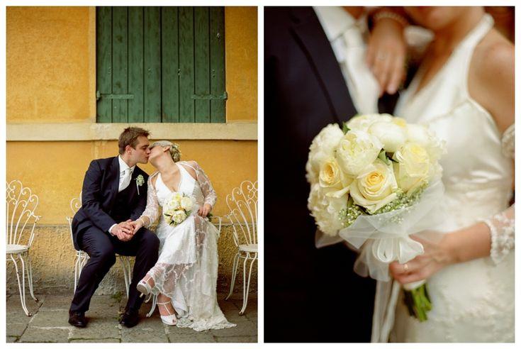 vintage wedding - contax 645 kodak portra 400