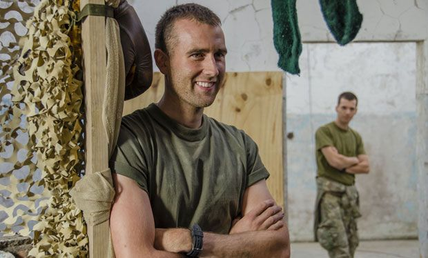 Bluestone 42: Matthew Lewis aka Neville Longbottom, shirtless scenes, Oliver Chris and men in uniform are all reasons to watch series two of the BBC3 comedy