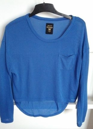 Kupuj mé předměty na #vinted http://www.vinted.cz/damske-obleceni/tricka/10927091-krasny-modry-croptop