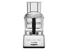 Magimix 5200 Chrome Food Processor with XL feed tube