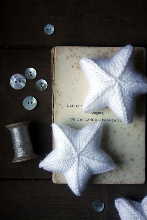 Knitted Lucky Stars || Free pattern
