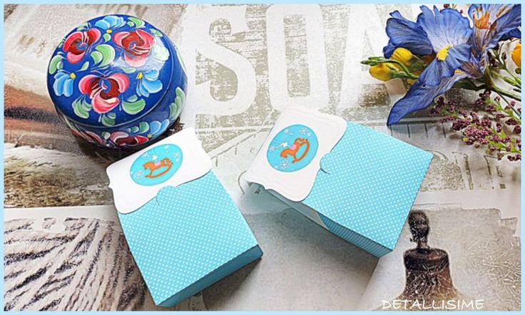 Paquetitos azules con topitos Medidas: 6.5cm X 3.5cm X 10.5cm. Ideales para rellenar en fiestas infantiles.. pedidos y catálogo: detallisime@yahoo.es