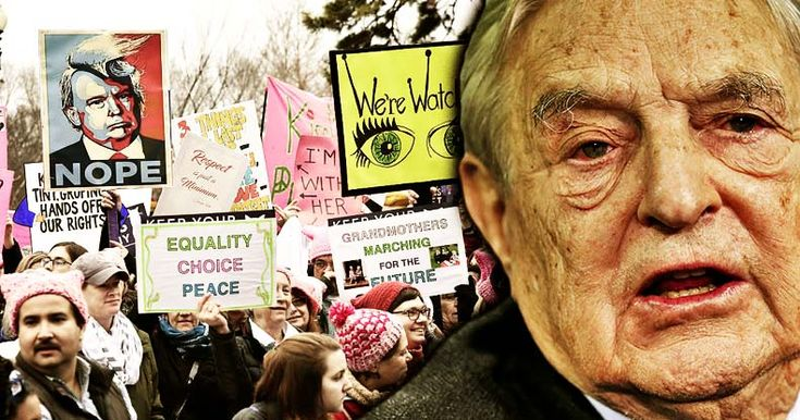 An investigation by the NY Times revealed globalist billionaire George Soros to be funding many of the women's organizations involved in the protests.