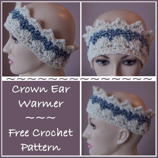 Crochet Ear Warmer Pattern Bulky Yarn : Free crochet pattern for an Ear Warmer using Bernat ...