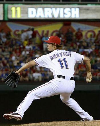 Yu Darvish of the Texas Rangers