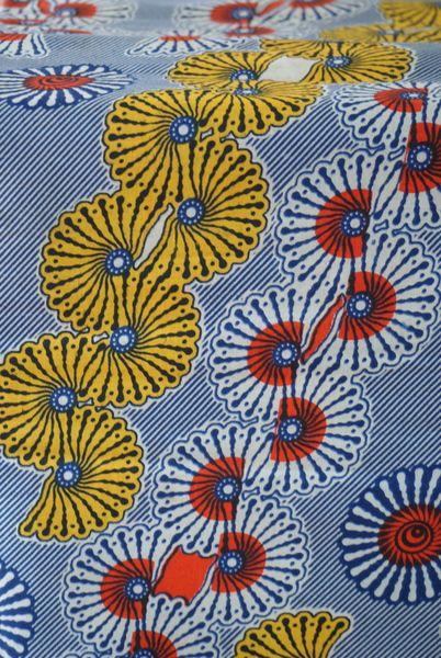 """""""Tissus africains, Tissus motifs graphiques est une création orginale de tantine-et-odika sur DaWanda"""
