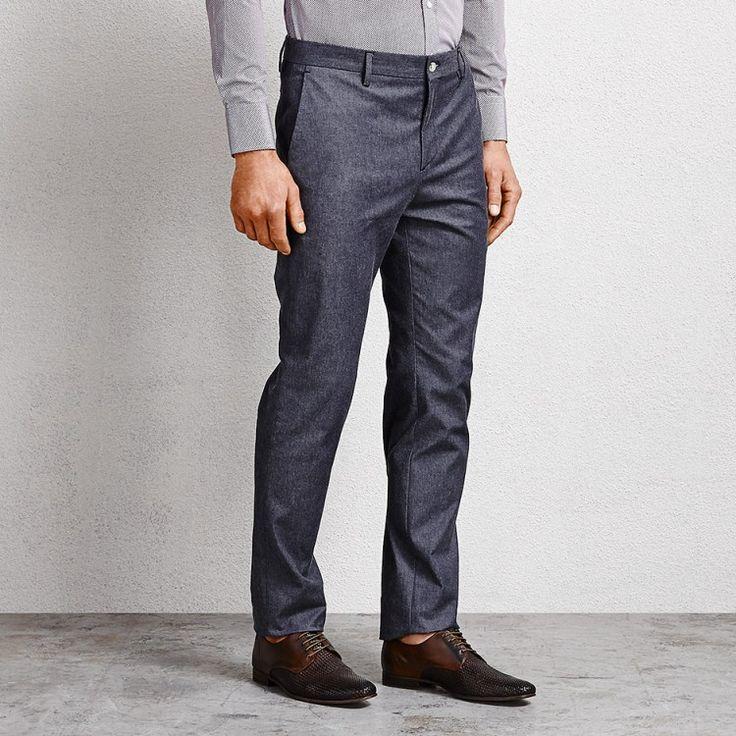 Hunter Denim Suit Pant #suitpant #denimsuitpant #pant #aquila