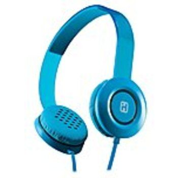 iHome iB35 Headphone - Stereo - Blue - Mini-phone - Wired - Over-the-head - Binaural - Supra-aural - 3.94 ft Cable