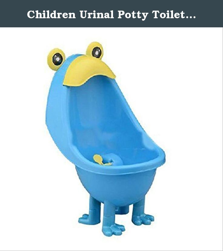 Children Urinal Potty Toilet Training Kids Urinal for Boys Pee Trainer Bathroom (Blue). 100% Brand New and High Quality Environmentally friendly material, nontoxic and no peculiar smell . Frog shape and rotating windmill improves your babies/' interest. Strong sucker can adjust the height of the item according to baby. Large capacity ensure the urine will not overflow. Urine groove separation design and light surface makes the item easy to clean. A wonderful gift to your baby and your...