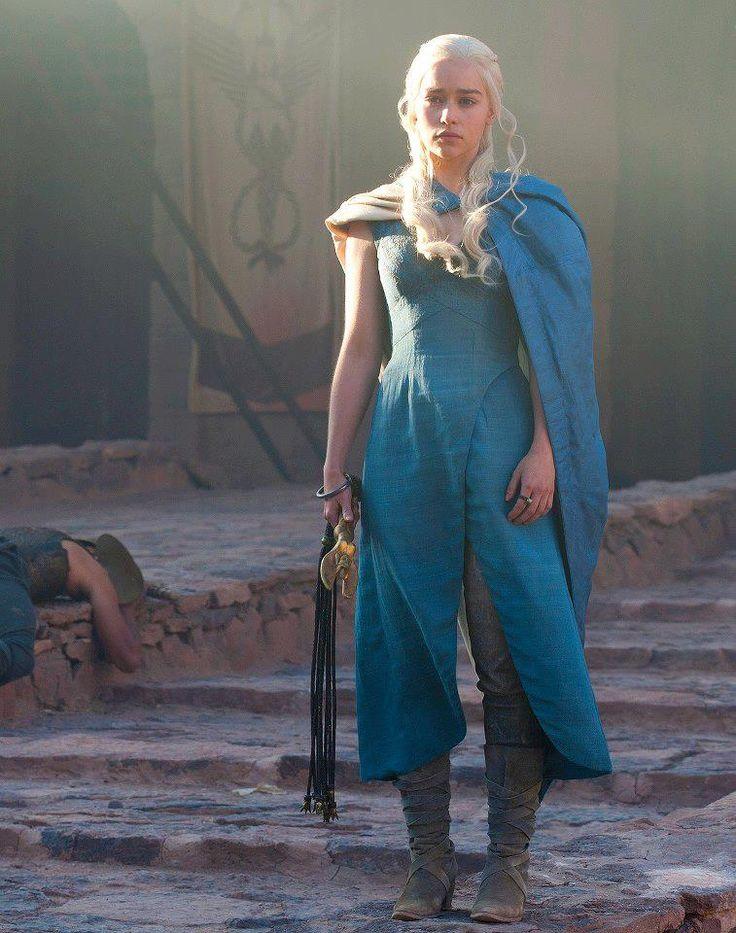 Blue dress daenerys viserion