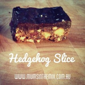 Hedgehog Slice - Mums in the Mix