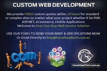 We provide Fixed custom quotes within 24 hours for Standard or complex sites no matter what your project whether it be PHP, ASP.Net, eCommerce, Mobile Applications,