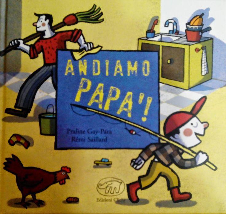 """""""Andiamo papà!"""" è ispirato ad un racconto congolese e trasmette tutta la magia del rapporto padre e figlio! Per una festa del papà davvero speciale con Edizioni Clichy.   Libri per bambini. Libri per la festa del papà."""