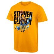 Men's Golden State Warriors Stephen Curry Gold NBA Store Exclusive 2015 MVP T-Shirt