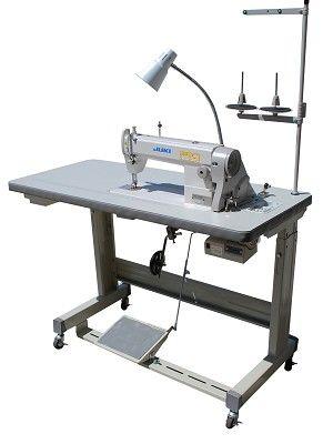 Juki DDL40N Industrial Sewing Machine With Servo Motor And L New Industrial Sewing Machine Tables