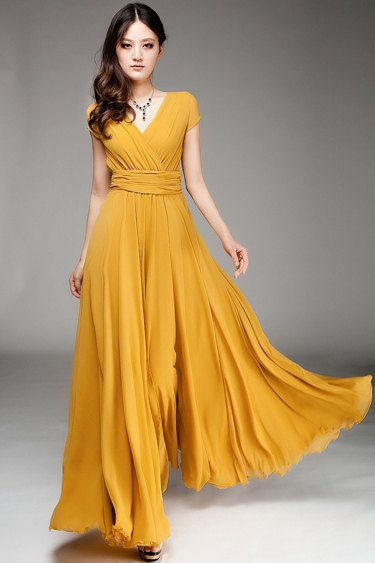 110 best ideas about yellow dress on Pinterest | Yellow gown ...