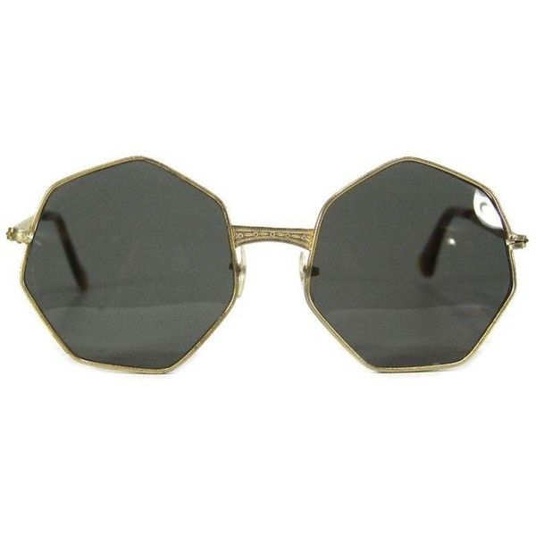 Pre-owned 1960s Mod Sunglasses found on Polyvore