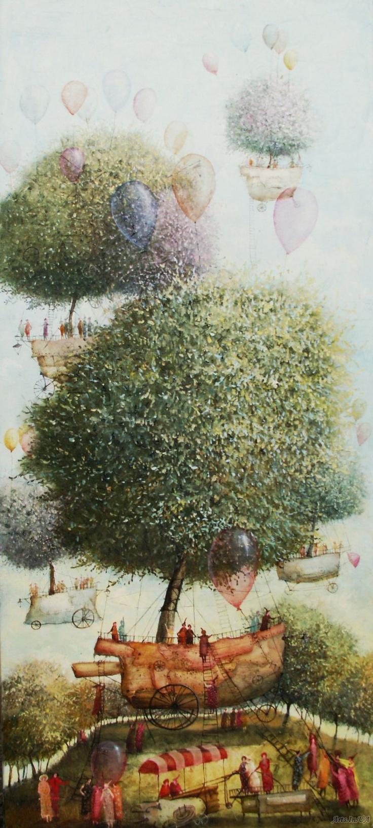 Artista: Januskevicius Remigijus - Flying Trees