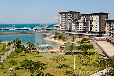 Stock Photo: Darwin City Waterfront new modern development