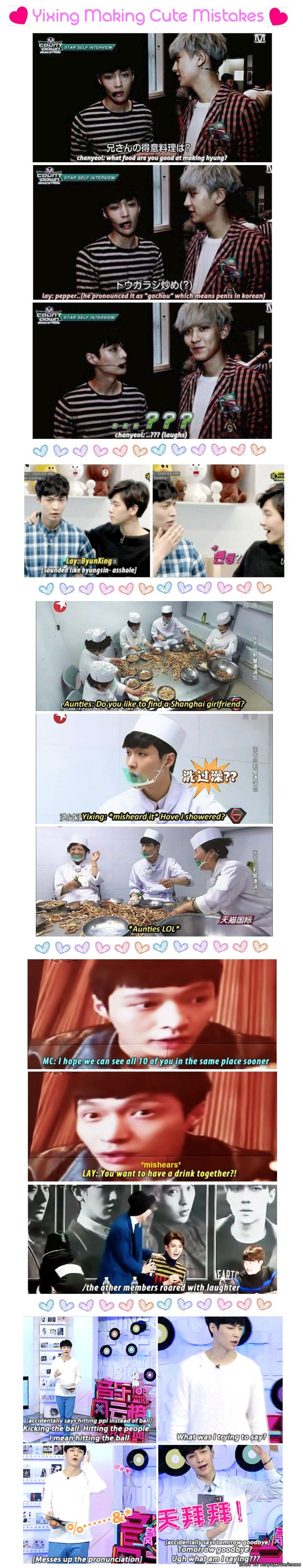 Zhang Yixing is too precious | allkpop Meme Center