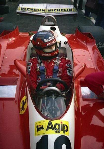 Gilles Villeneuve---Ferrari More