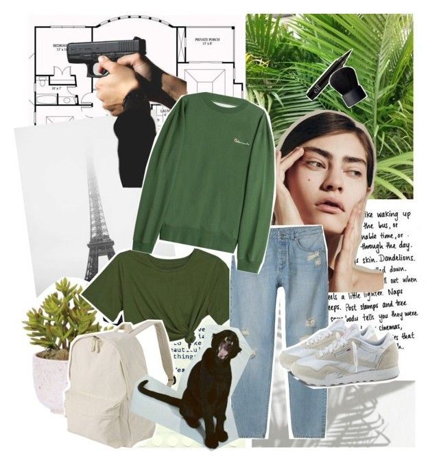 """Untitled #415"" by inkcoherent ❤ liked on Polyvore featuring Prada, Lux-Art Silks, Monki, Vetements, Reebok, Muji and NARS Cosmetics"
