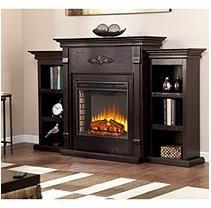 Emerson Electric Fireplace - Espresso