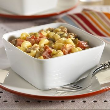 South-of-the-Border Mac 'n Cheese ... only three ingredients to make this comfort classic!
