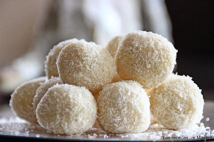 Trufas de coco con un toque diferente | Cocinar en casa es facilisimo.com