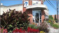 Bureau d'information touristique à Sherbrooke, QC