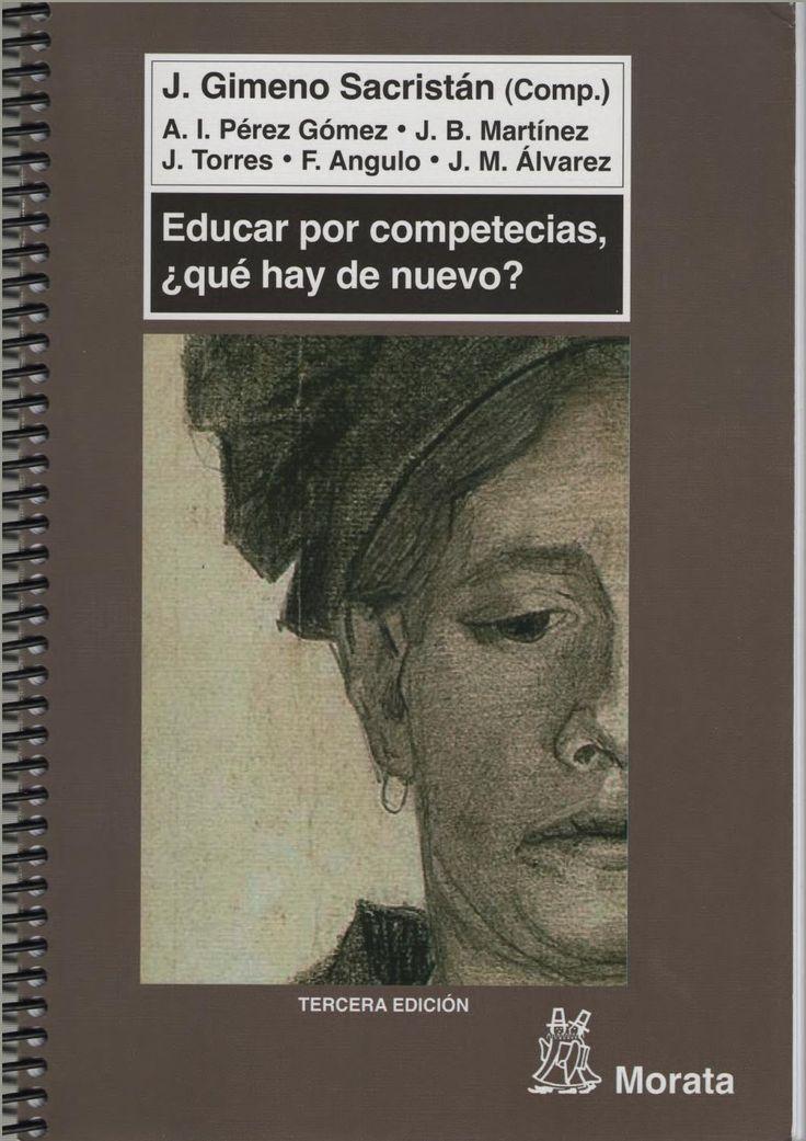 Sacristan educar por competencias Educar por competencias en español Sacristán