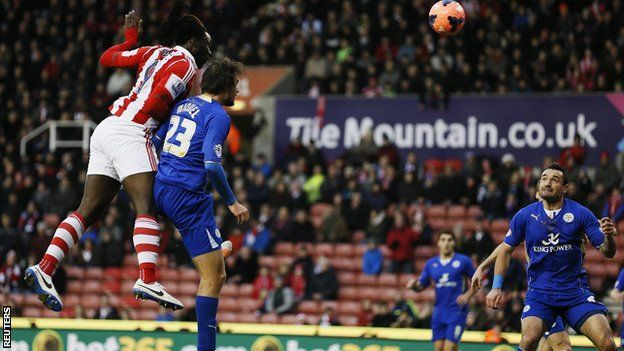 Stoke striker Kenwyne Jones