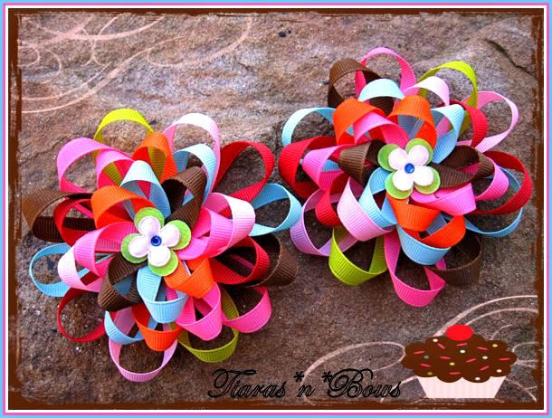 Free Homemade Hair Bows Instructions - Bing Images. Would like to try this!
