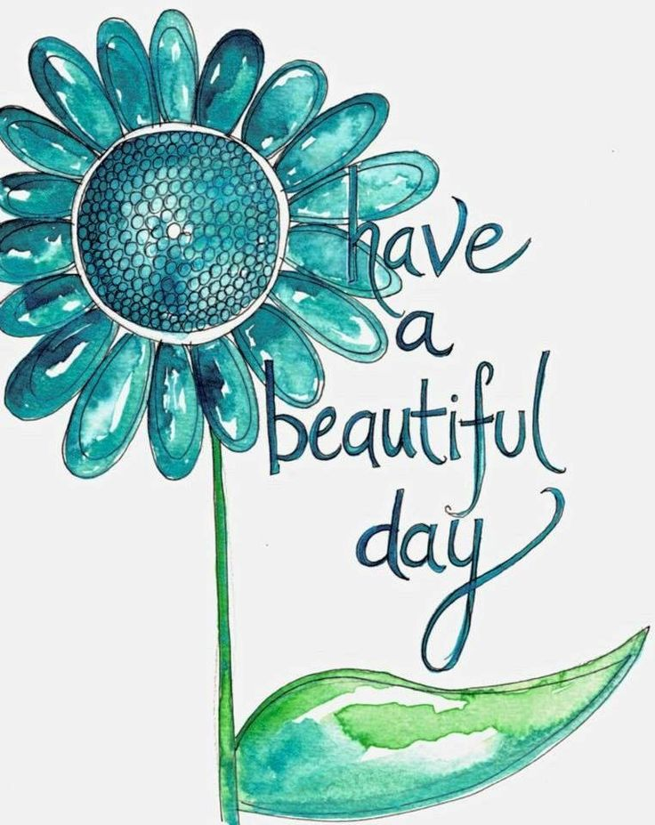Have a beautiful day quote via Carol's Country Sunshine on Facebook