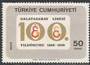 1968 Galatasaray gymnasium