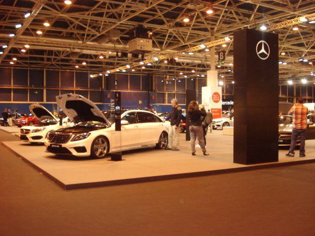 Varios modelos de Mercedes-Benz en el Salón del Automóvil 2014