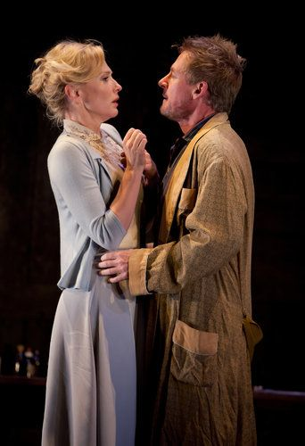 """Love has no dignity in the Sydney Theater Company's glorious production of """"Uncle Vanya,"""" starring Cate Blanchett and Hugo Weaving."""