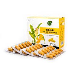 KHAOLAOR ขาวละออ Turmeric Capsule ยาขมิ้นชัน ชนิดแคปซูล (กรดไหลย้อน ท้องอืด ท้องเฟ้อ)